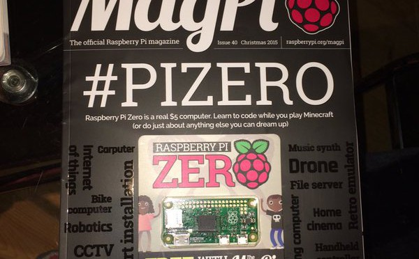 And the pi zero's in the bag. @easons carries #Mag…
