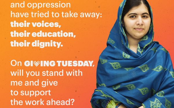 RT @MalalaFund: Your #GivingTuesday gift helps emp…