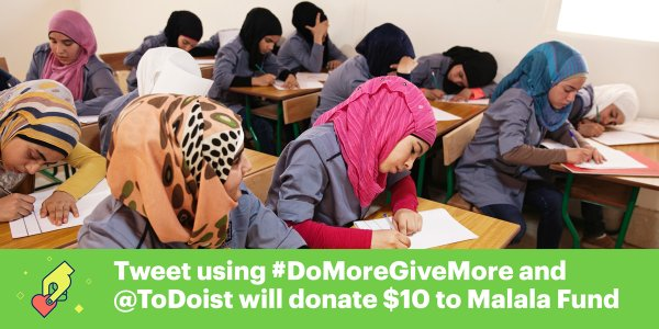 RT @MalalaFund: Want to #DoMoreGiveMore to support…