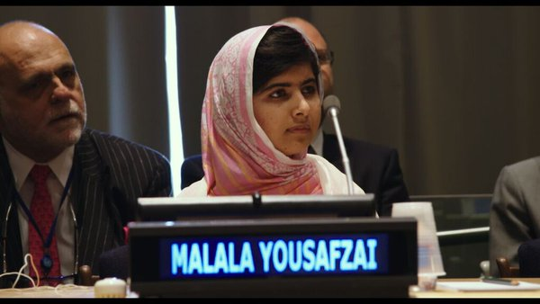 """RT @MalalaFund: """"Let us pick up our books and or p…"""
