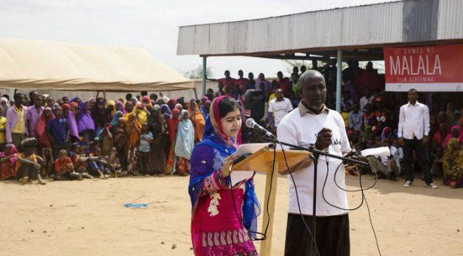 RT @MalalaFund: Malala spent her bday in Dadaab, K…